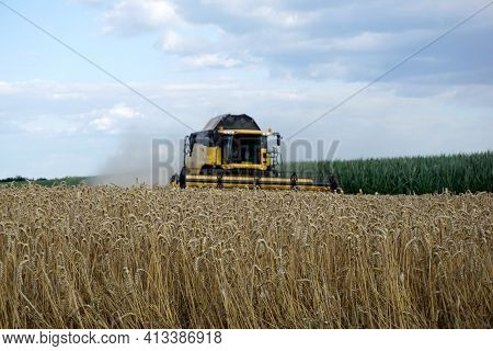 Landscape Photographs In The Bavarian Upper Palatinate And Lower Bavaria Between Regensburg And Stra
