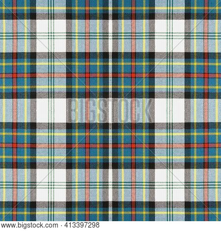 Beautiful Seamless Noble Tartan Multicolors Green, Red, Blue And White Colors.  Abstract Classic Col