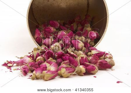 Dried Buds Of Roses, Having A Good Sleep From Banks