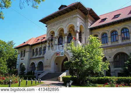Bucharest, Romania On 31.05.2020. National Museum Of Geology. Geological Institute Of Romania, Locat
