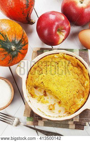 Pumpkin Casserole With Apple