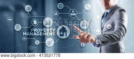 Property Management. Operation Control Maintenance And Oversight Of Real Estate And Physical Propert