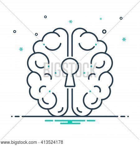 Mix Icon For Psychiatry Neurology Emergency Medicine Depression