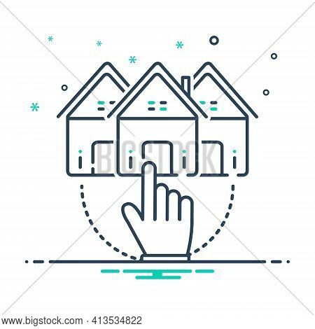 Mix Icon For Choose-home Choose Home Opportunity Select Property Real-estate
