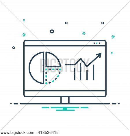 Mix Icon For Web-analytics  Web Analytics  Usability Marketing Infographic