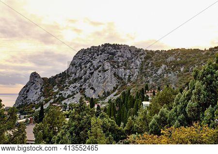 Mount Cat, Koshka, The Black Sea Coast Near Yalta, Town Simeiz, Crimea