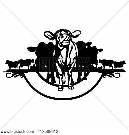 Farm Life, Farm Stencil - Silhouettes For Cricut, Farmers House Clipart, Png Cut File, Iron On, Vect