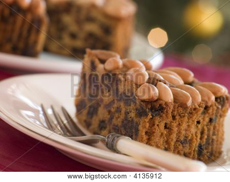 Wedge Of Dundee Cake