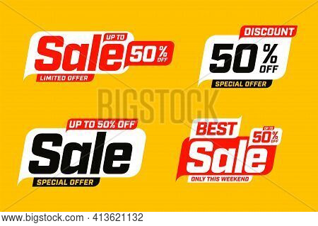 Best Sale And Discount Up To 50 Percent Off Template Set. Limited Time Special Offer During Weekend,