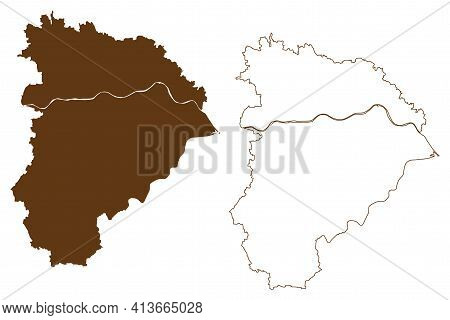 Altotting District (federal Republic Of Germany, Rural District Upper Bavaria, Free State Of Bavaria