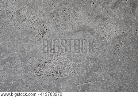 Detailed Plastering Wall Texture . Detailed Abstract Grey Background.