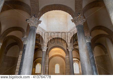 Santa Sofia Church (Chiesa di Santa Sofia), UNESCO World Heritage Site, Benevento, Campania, Italy