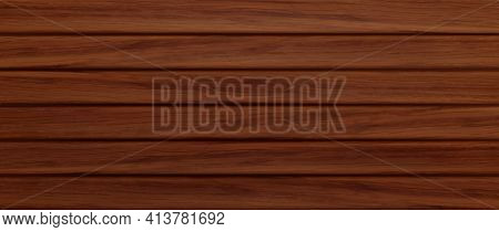 Wooden Background, Texture Of Brown Wood Planks