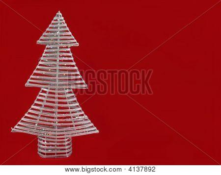 Handmade Christmas Tree Background