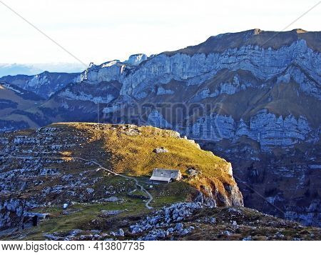 Alpine Pastures And Grasslands On The Slopes Of The Alpstein Mountain Range And Appenzellerland Tour