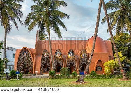 St George Orthodox Koonan Kurishu Old Syrian Church in Fort Kochi, Kerala state, India