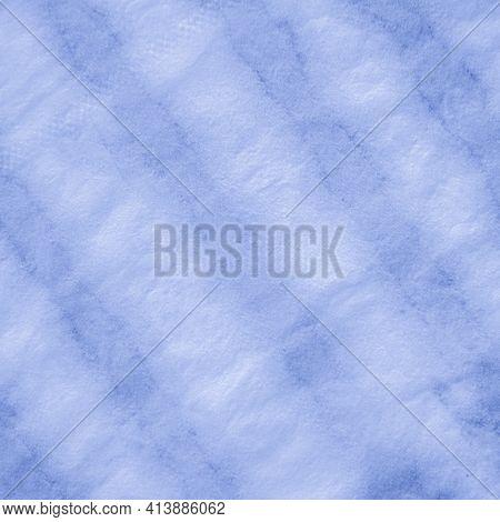 Indigo Tie Dye Shibori. Navy Geometric Ethnic Design. Clouds Paintbrush Surface. Clouds Paint Textil