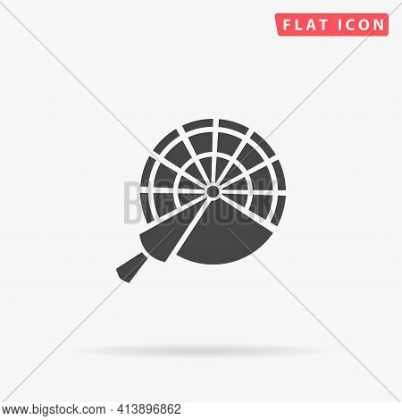 Engine Order Telegraph Flat Vector Icon. Hand Drawn Style Design Illustrations.