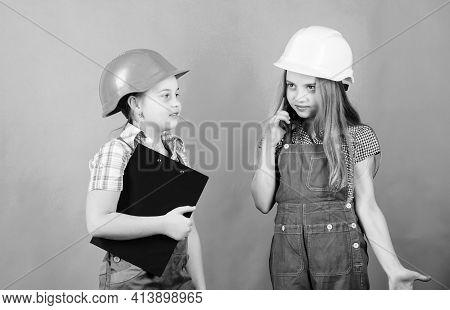 Renovation Plan. Home Improvement Activities. Builder Engineer Architect. Future Profession. Kids Gi