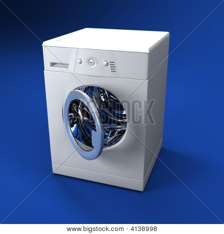 Washing Machine Open Door