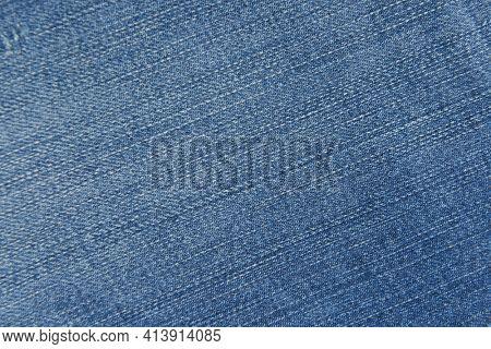 Closeup jeans texture or denim jeans background