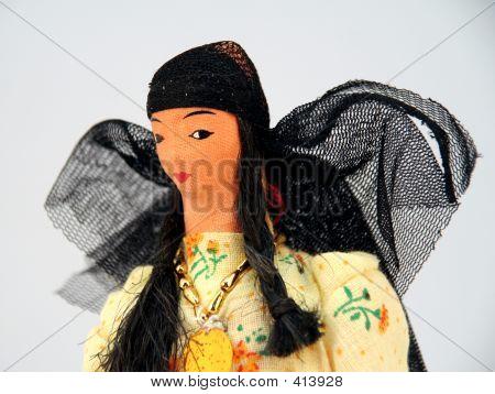 arab bedouin woman doll 2 poster