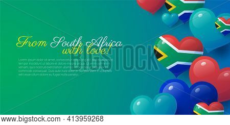 From South Africa With Love Card Template.