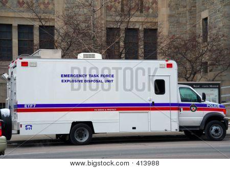 Explosives Bomb Squad Unit