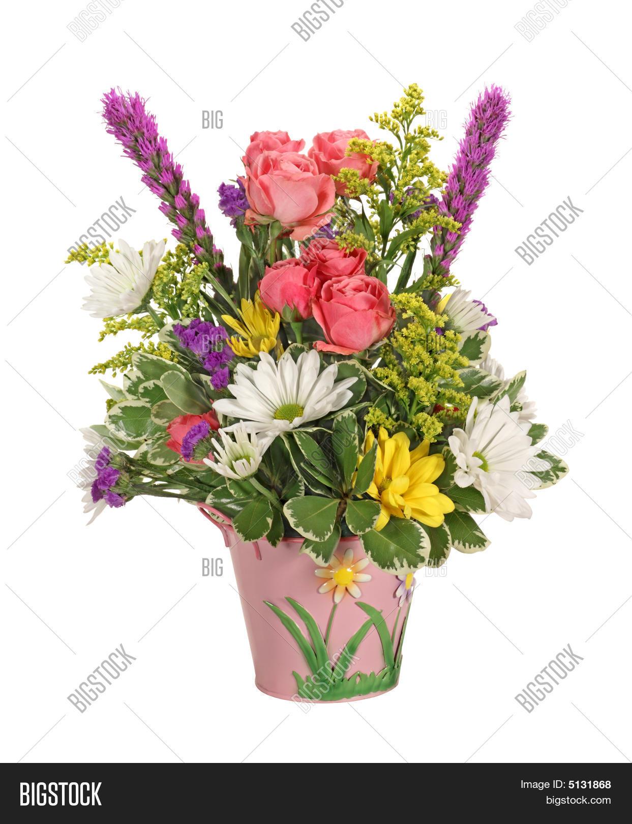 Flower Bouquet Image Photo Free Trial Bigstock