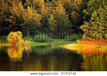 Autumn Bulgarian Lake
