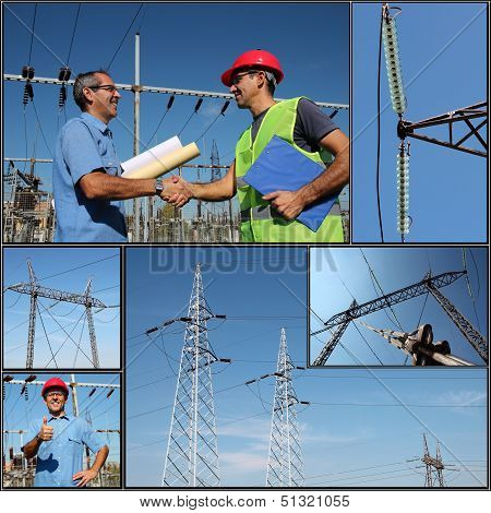 Electricity Distribution - Collage
