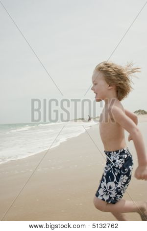 Running To The Waves