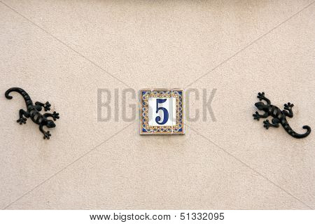 House Street Number
