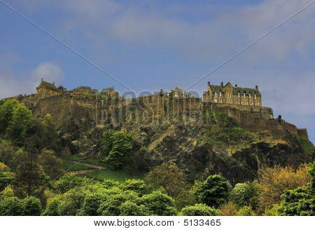 North Walls Of Edinburgh Castle, Scotland