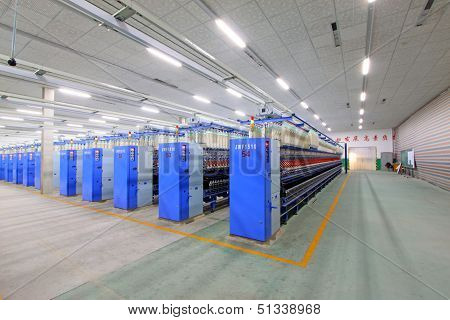 Spinning Plant Machinery And Equipment