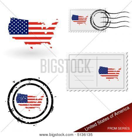 Estados Unidos mapa conjunto