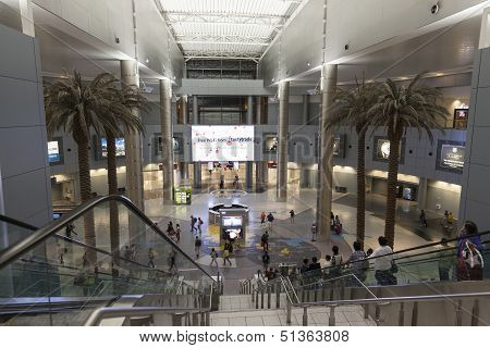 A View Of The Main Hall At The D Gates, Mccarran Airport In Las Vegas, Nv On July 01, 2013