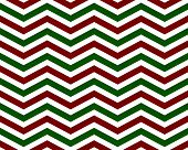 Red and Green Zigzag Pattern Background that is seamless and repeats poster