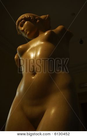 Statue Of Nude Woman