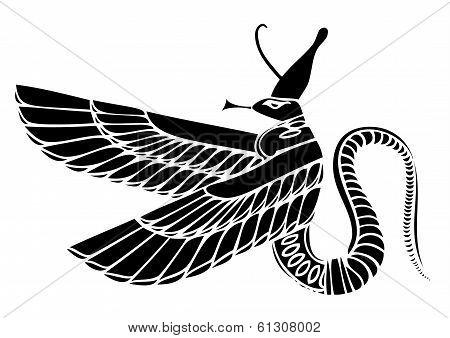 vector Egyptian Demon
