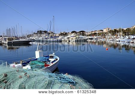 Marina Of Bandol In France