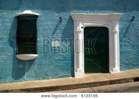 Colonial Architecture in Ciudad Bolivar, Venezuela