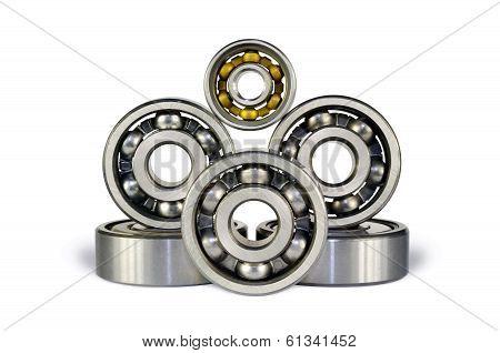 Six Ball Bearings