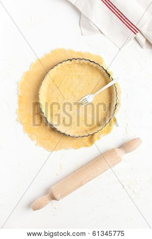 Making A Basic Shortcrust Pastry
