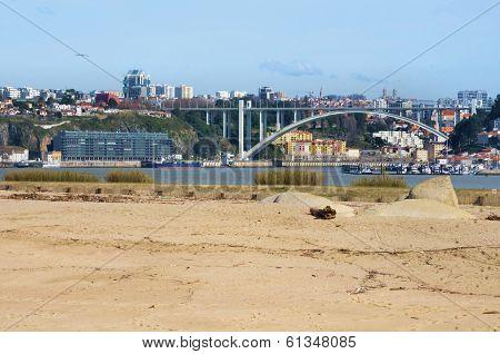 River Douro and the city of Porto