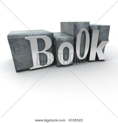 Book Written In Print Letter Cases