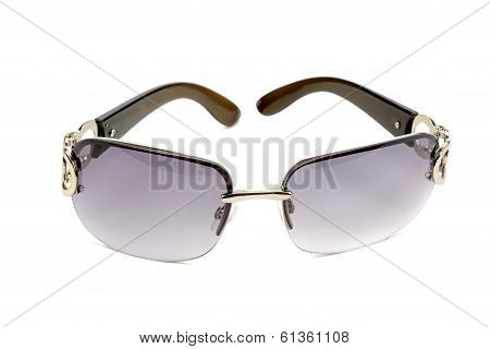 Sun Glasses Isolated On A White Background