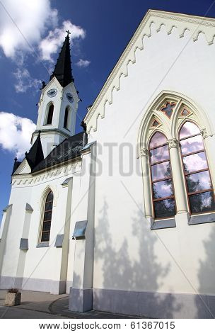 Old church at village Cernova, Slovakia
