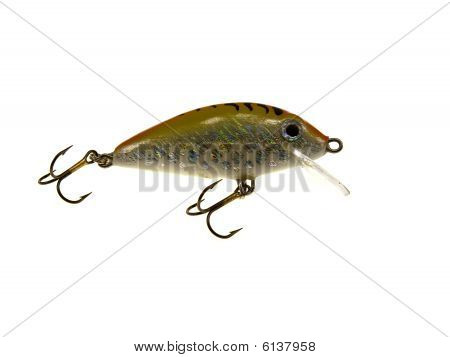 Old Fishing Wobbler A Small Fish