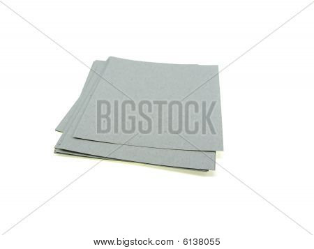 Green Pile Of Office Paper